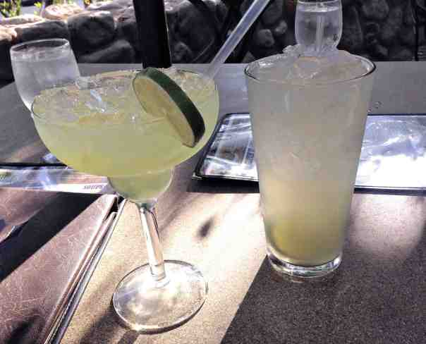 Post-hike cocktails