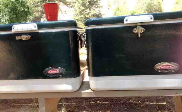 We never leave home with out Coleman coolers...