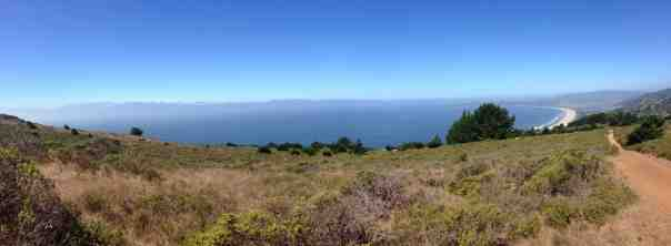The Pacific Ocean views from the Dipsea are spectactular.