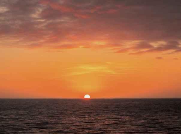 26 Monday Sunset on the Equator