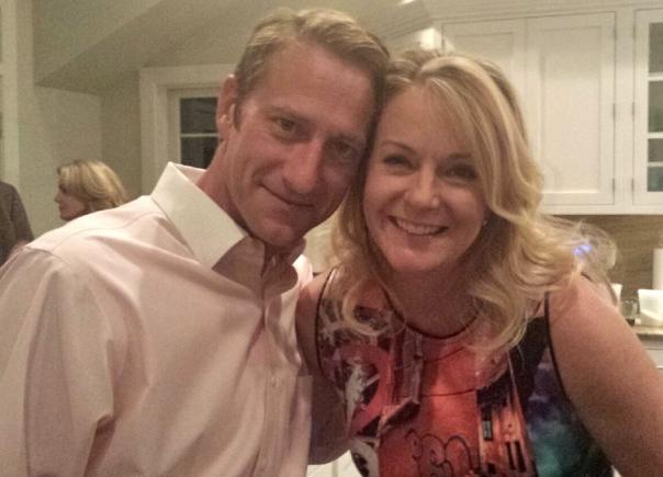 Kevin, el cunado de Aimee, y el hombre encantador! (Photo por Kiki.)