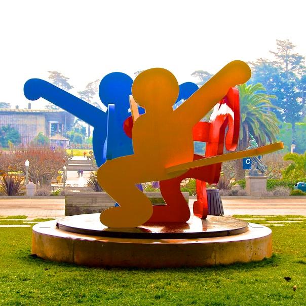 12 Keith Haring Outdoor Sculpture