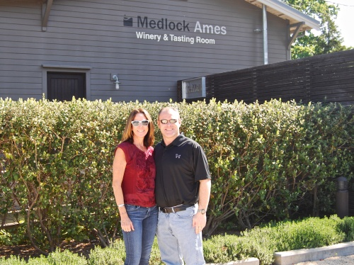 annie and john at Medlock Ames