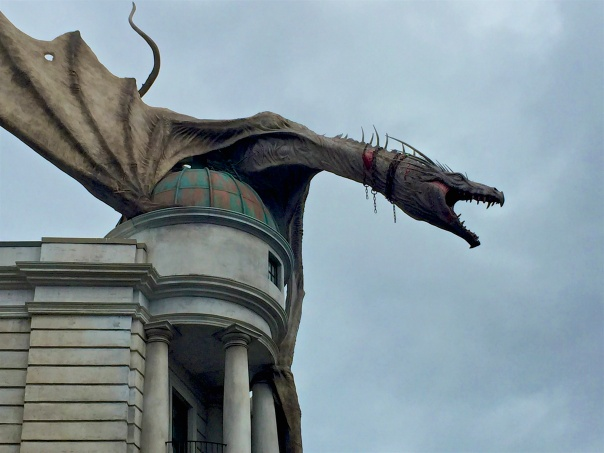 2 Diagon Alley dragon