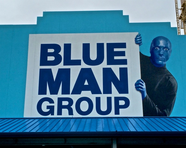 7 blue man group